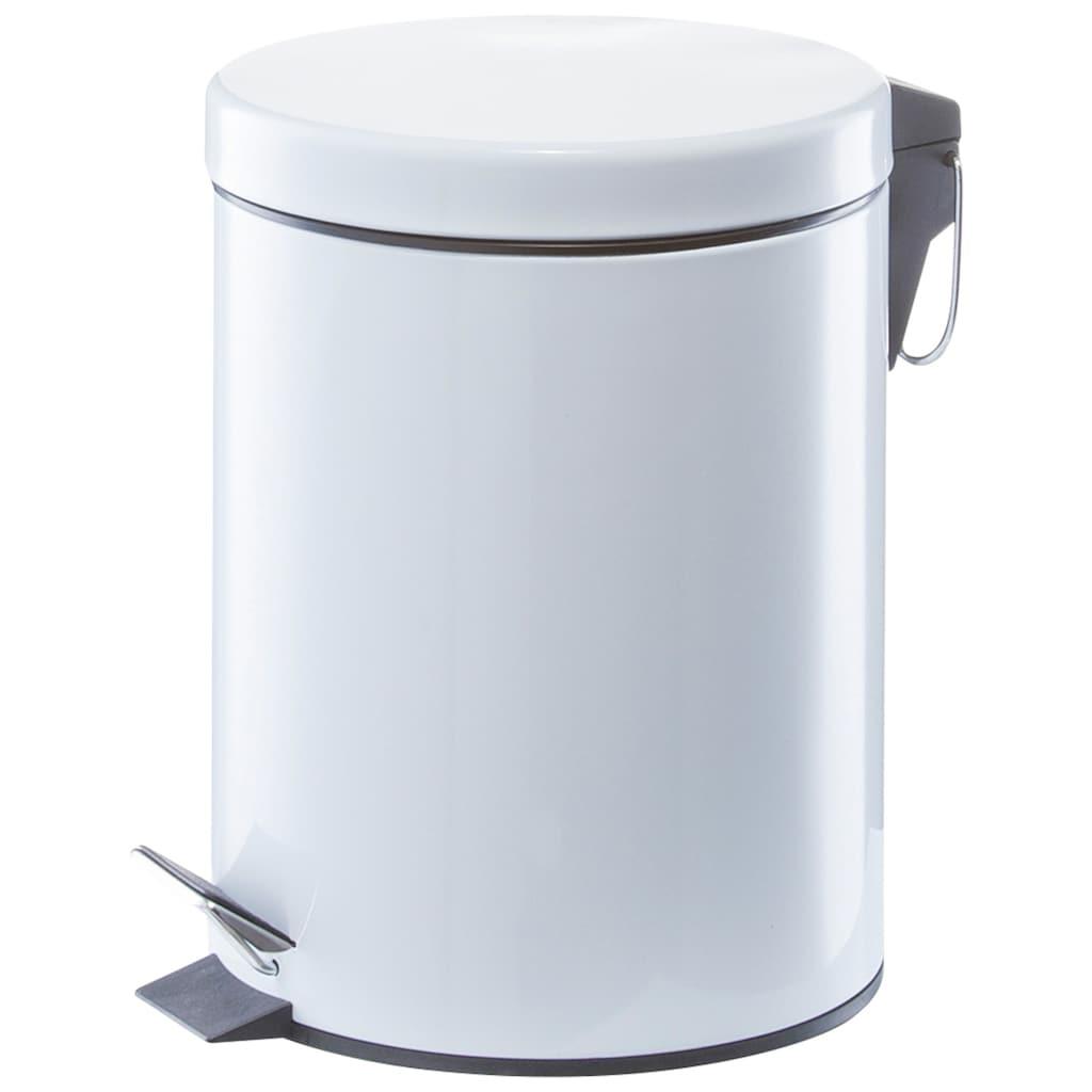 Zeller Present Kosmetikeimer, 5 Liter, weiß