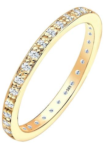 Elli DIAMONDS Memoirering »0612361813«, mit funkelnden Brillanten kaufen