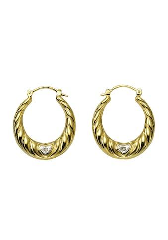 Diamonds by Ellen K. Creolen 333/- Gelbgold Diamanten 0,005ct. kaufen