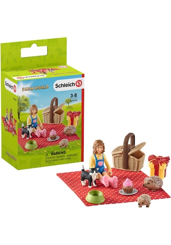 """Schleich® Spielfigur """"Farm World, Geburtstagspicknick (42426)"""" kaufen"""