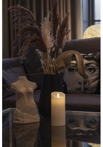 KONSTSMIDE LED-Kerze, LED Echtwachskerze cremeweiß, mit 3D Flamme und geschmolzener Kante kaufen