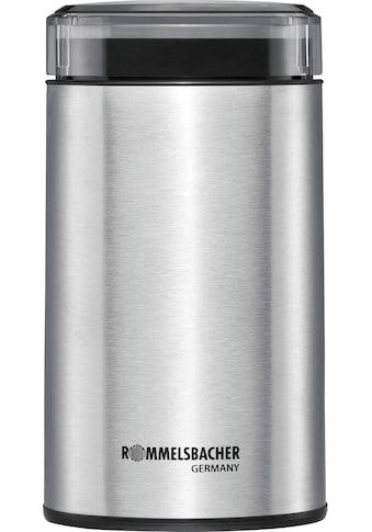 Rommelsbacher Kaffeemühle, 200 W, Schlagmesser, 70 g Bohnenbehälter kaufen