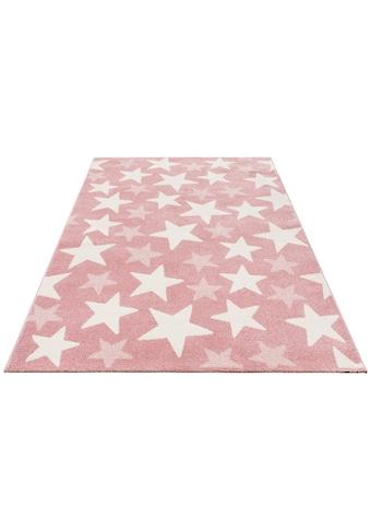 Kinderteppich, »Stars«, Lüttenhütt, rechteckig, Höhe 13 mm, maschinell gewebt kaufen
