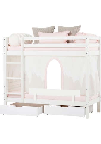 Hoppekids Etagenbett »Winter Wonderland« (Set, 4 Teile, Bett, Vorhang und zwei Matratzen) kaufen