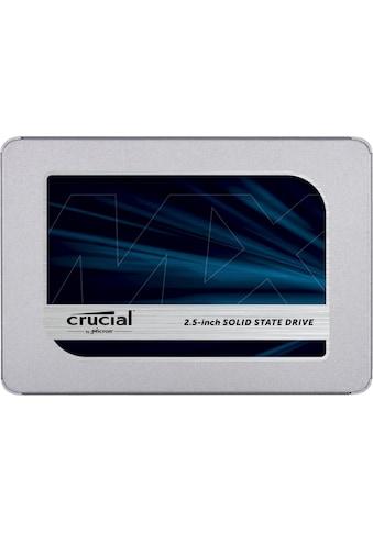 "Crucial interne SSD »MX500 250GB SSD«, 2,5 "", 3D NAND SATA kaufen"
