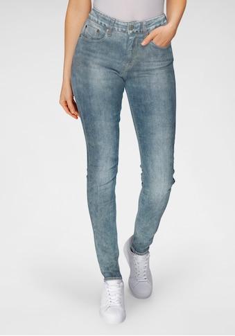 Herrlicher High-waist-Jeans »SUPER G«, im Authentic Used Look kaufen