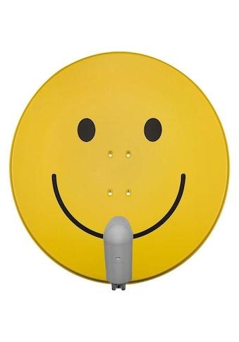 TechniSat 85cm Sat - Antenne »SATMAN 850 Plus mit Quattro - Switch - LNB smiley - gelb« kaufen