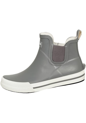 Gummistiefel »Damen-Halbstiefel Momo grau/weiß« kaufen