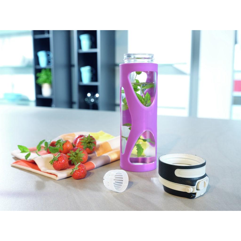Leifheit Trinkflasche »Flip«, 600 ml