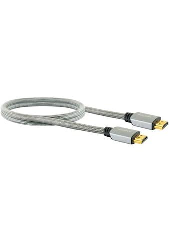 Schwaiger Highspeed HDMI Kabel mit Ethernet, 4K, Full HD, 3D, Ultra HD UHD »mit... kaufen