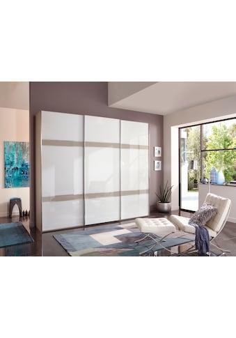 WIEMANN Schwebetürenschrank »Rialto«, hochwertige Glasfront mit Querriegeln kaufen
