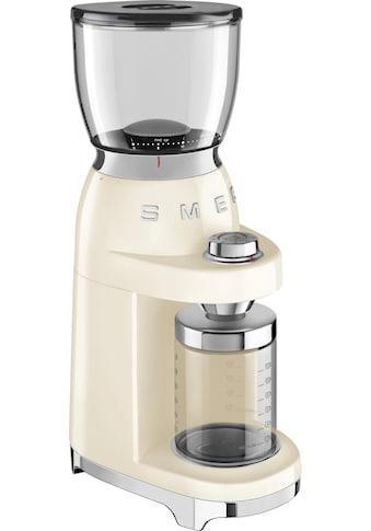 Smeg Kaffeemühle »CGF01CREU«, 150 W, Kegelmahlwerk, 350 g Bohnenbehälter kaufen
