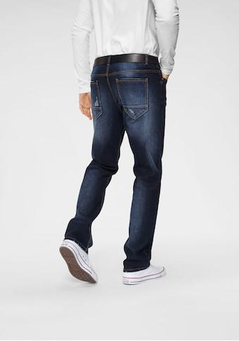 John Devin Straight-Jeans, mit Elasthan kaufen