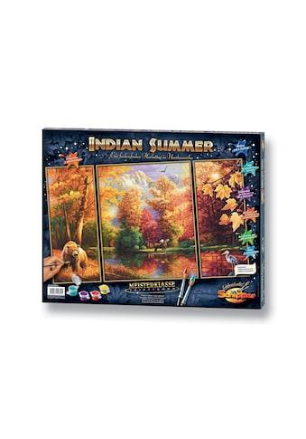 Schipper Malen nach Zahlen »Triptychon - Indian Summer«, Made in Germany kaufen