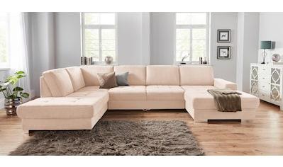 sit&more Wohnlandschaft, mit Federkern und Sitztiefenverstellung, wahlweise mit... kaufen