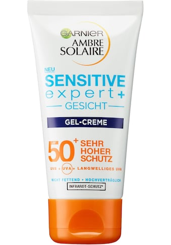 GARNIER Sonnenschutzcreme »Ambre Solaire Sensitive expert+ LSF 50+« kaufen