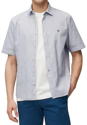 Marc O'Polo Kurzarmhemd, Leinenmix kaufen