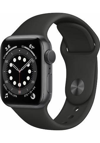Apple Smartwatch »Series 6, GPS + Cellular, Aluminium-Gehäuse, 40 mm mit Sportarmband« kaufen