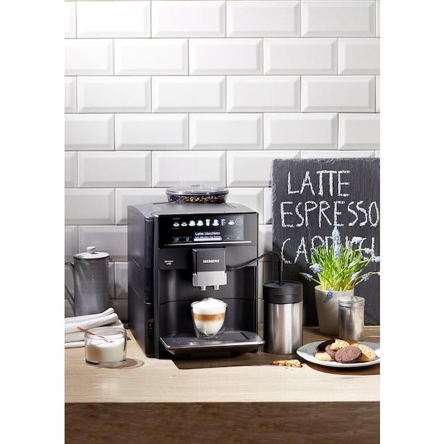 SIEMENS Kaffeevollautomat EQ.6 plus s400 TE654509DE, 1,7l Tank, Scheibenmahlwerk