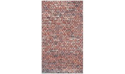 BODENMEISTER Fototapete »3d Effekt Steinwand Vintage rot«, Rolle 2,80x1,59m kaufen