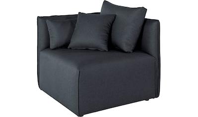 elbgestoeber Sofa-Eckelement »Elbdock«, Modul - zum eigenen Zusammenstellen; in vielen Bezugsqualitäten und Farben kaufen