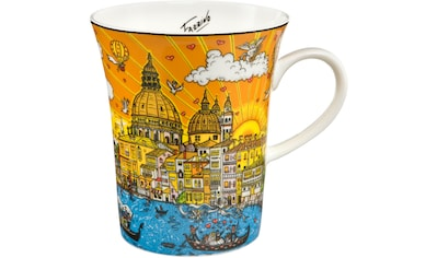 Goebel Becher »Carnevale Veneziana«, von Charles Fazzino kaufen