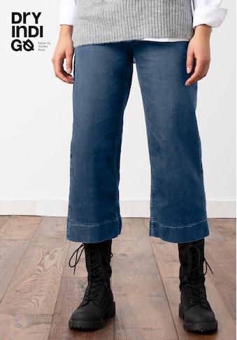 bianca Weite Jeans »MELBOURNE«, Culotte in Denim kaufen