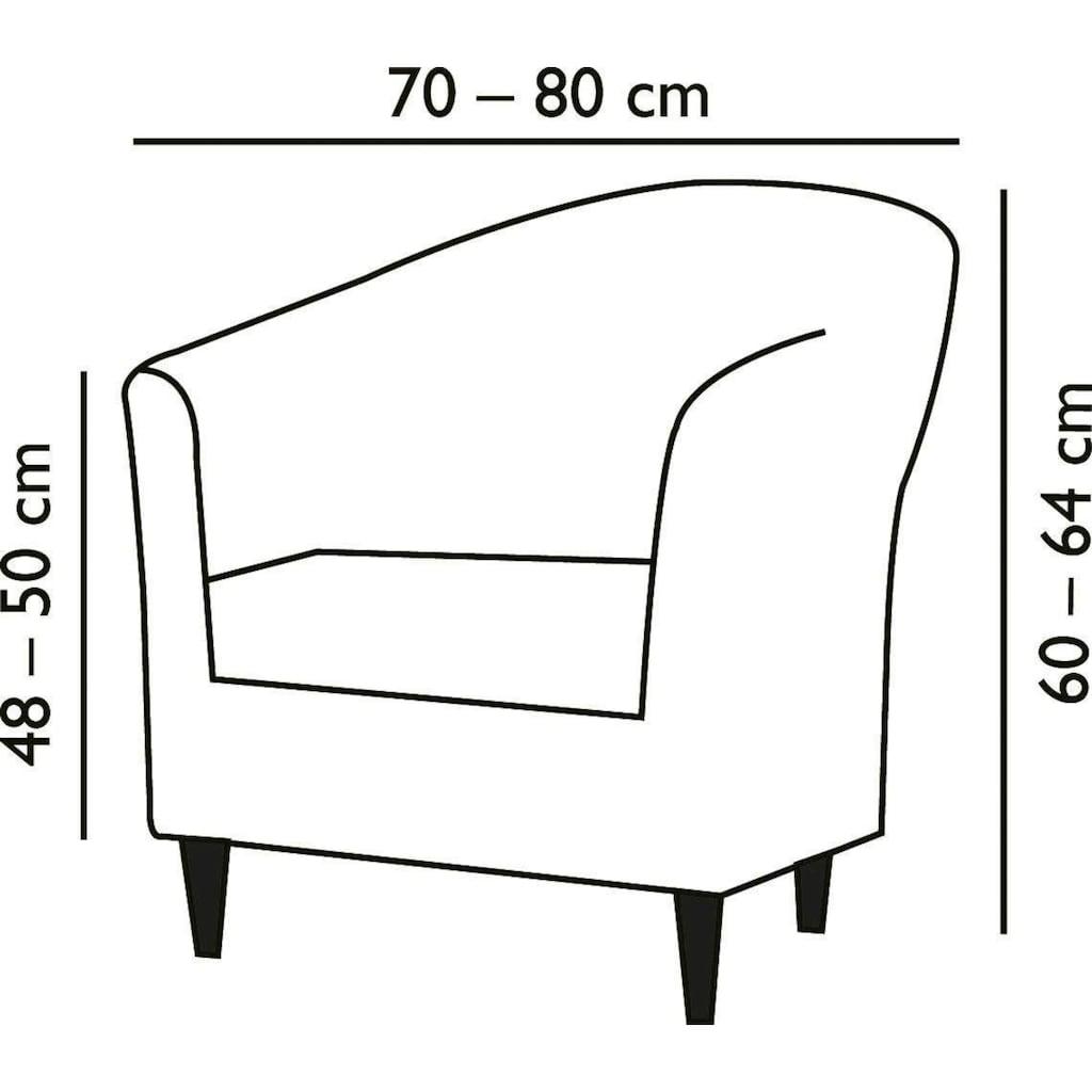 Dohle&Menk Sesselhusse »Susi«, in hochwertiger Stretch Qualität