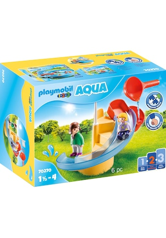 Playmobil® Konstruktions-Spielset »Wasserrutsche (70270), Playmobil 123 - Aqua«, ;... kaufen
