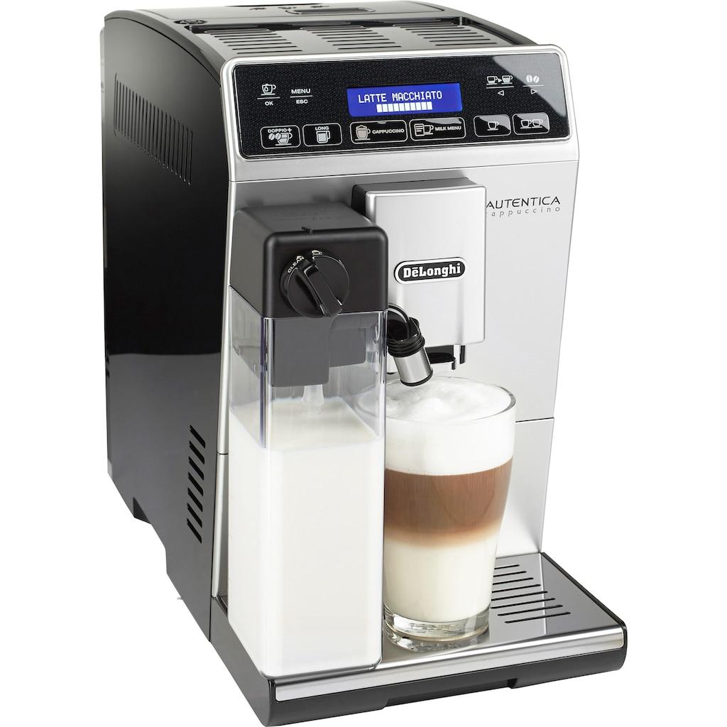 De'Longhi Kaffeevollautomat Autentica ETAM 29.660.SB, 1,3l Tank, Kegelmahlwerk