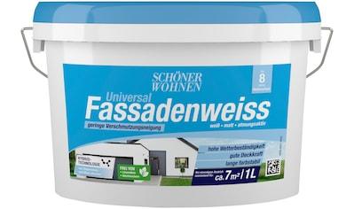 SCHÖNER WOHNEN-Kollektion Fassadenfarbe »Universal-Fassadenweiss« kaufen
