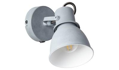 Brilliant Leuchten Bogart Wandspot Schalter grau Beton kaufen