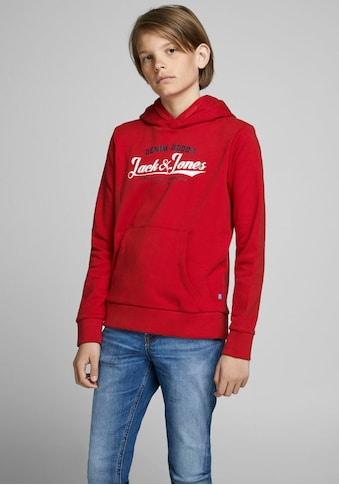 Jack & Jones Junior Kapuzensweatshirt »JJELOGO SWEAT HOOD 2 COL« kaufen