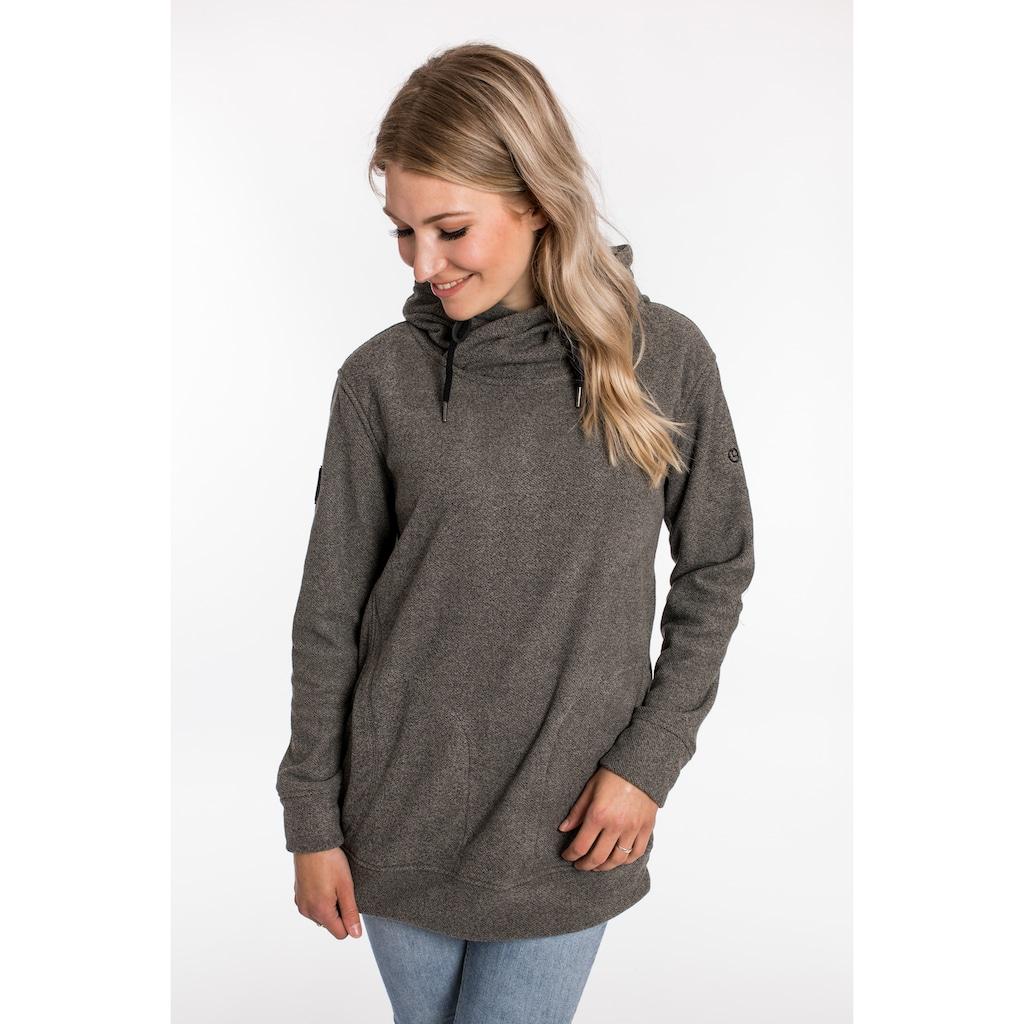 DEPROC Active Kapuzensweatshirt »SWEAT ALBERTA WOMEN«, aus funktionalem Piqué-Fleece