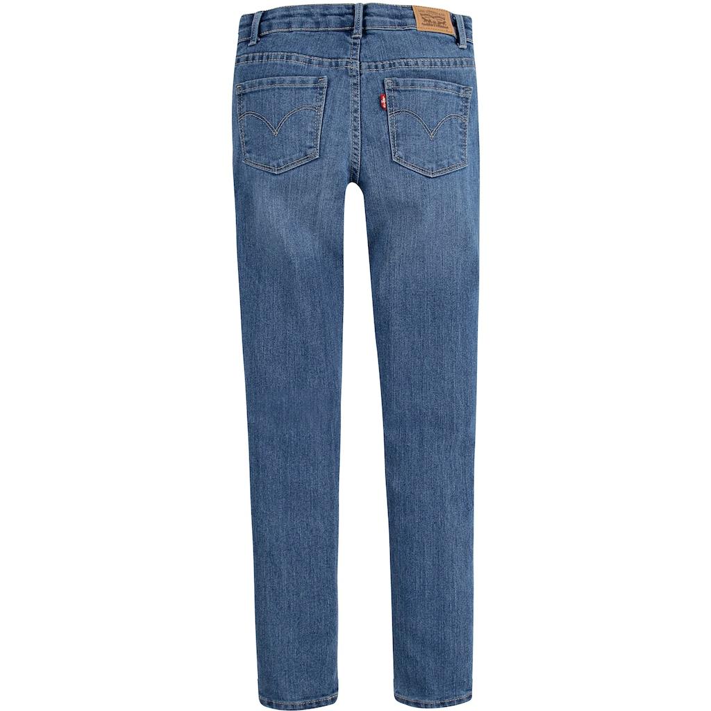 Levi's Kidswear Stretch-Jeans »710«, schlichte Super Skinnyform