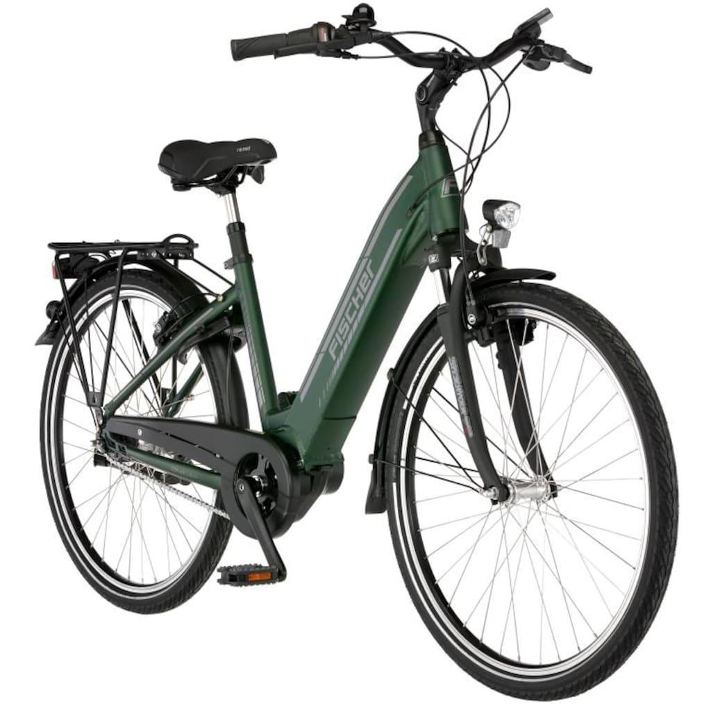 FISCHER Fahrräder E-Bike »CITA 4.1i«, 7 Gang, Shimano, Nexus, Mittelmotor 250 W