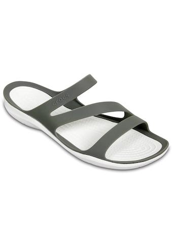 Crocs Pantolette »Swiftwater Sandal«, zum Baden oder für den Strand kaufen