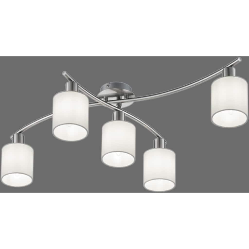 TRIO Leuchten Deckenleuchte »Garda«, schwenkbar, Leuchtmittel tauschbar