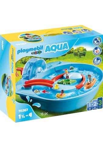 Playmobil® Konstruktions-Spielset »Fröhliche Wasserbahn (70267), Playmobil 123 -... kaufen