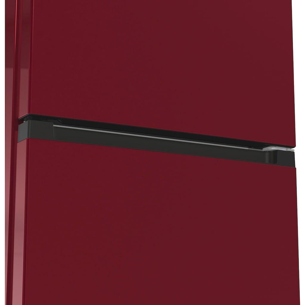 GORENJE Kühl-/Gefrierkombination, NK79D0DR, 185 cm hoch, 60 cm breit