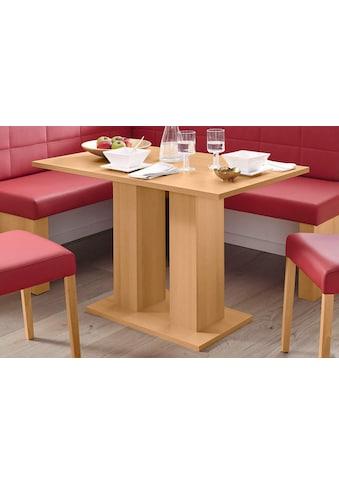 SCHÖSSWENDER Säulen-Esstisch »Anna 2«, zeitloses Design kaufen
