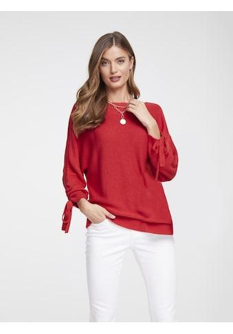 Pullover mit Raffung kaufen