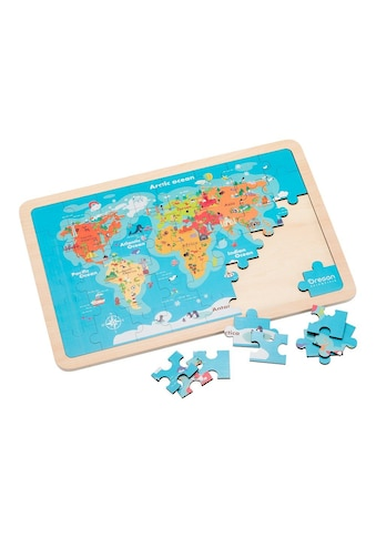 Oregon Scientific Puzzle »Weltkarten - Puzzle mit erweiteter Realität über APP« kaufen