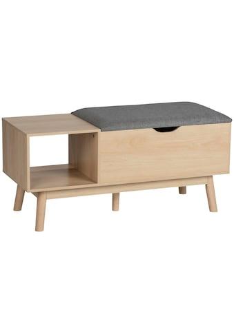 WENKO Schuhbank »Loft«, BxTxH: 103x29,5x48 cm, MDF in Bambusoptik kaufen