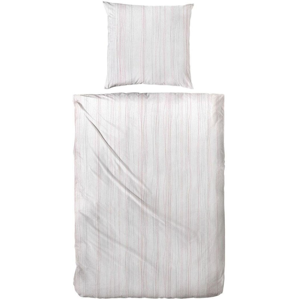 Primera Bettwäsche »Bio Crepe Stripes«, mit feinem Streifendesign