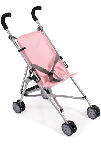 CHIC2000 Puppenbuggy »Roma, grau-rosa« kaufen