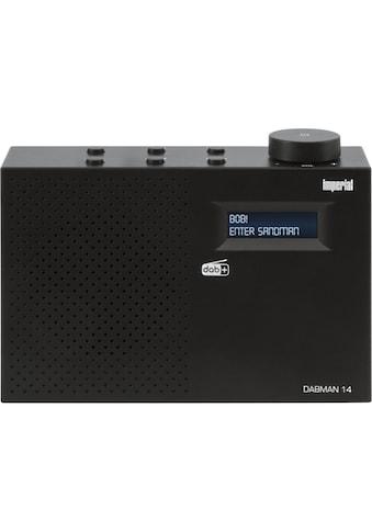 IMPERIAL Digitalradio (DAB+) »DABMAN 14«, (Digitalradio (DAB+), mit Weckfunktion und... kaufen