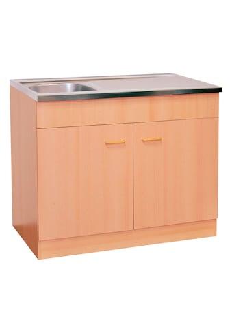 HELD MÖBEL Spülenschrank »Elster«, Breite 80 cm kaufen
