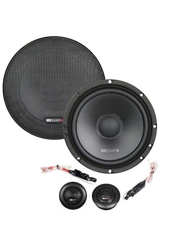 MB Quart 2-Wege-Komponenten-Lautsprechersystem 16,5 cm »QM165«, (ein Set) kaufen