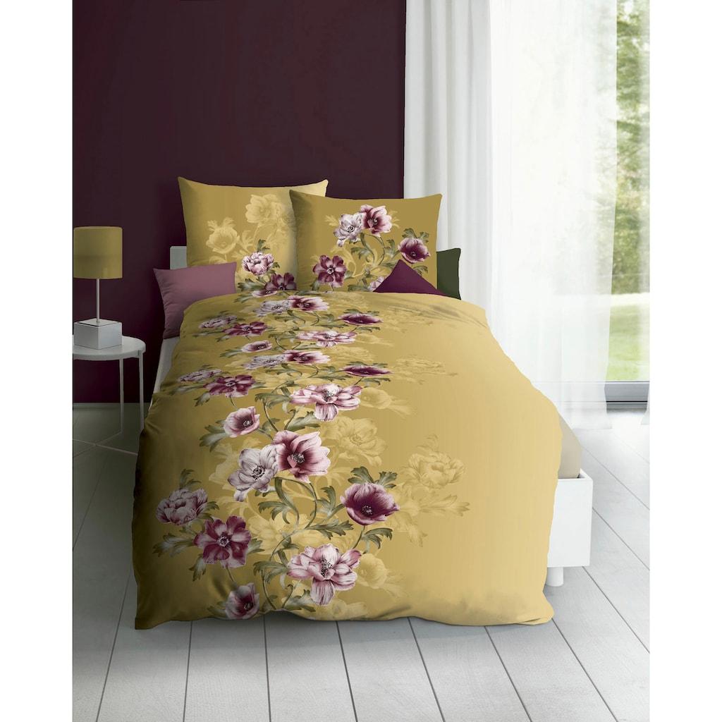 Kaeppel Bettwäsche »Victoria«, im Blumenmuster